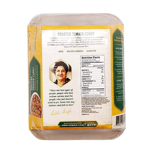 Roasted Tomato Curry Kale And Peas, 18 oz 2