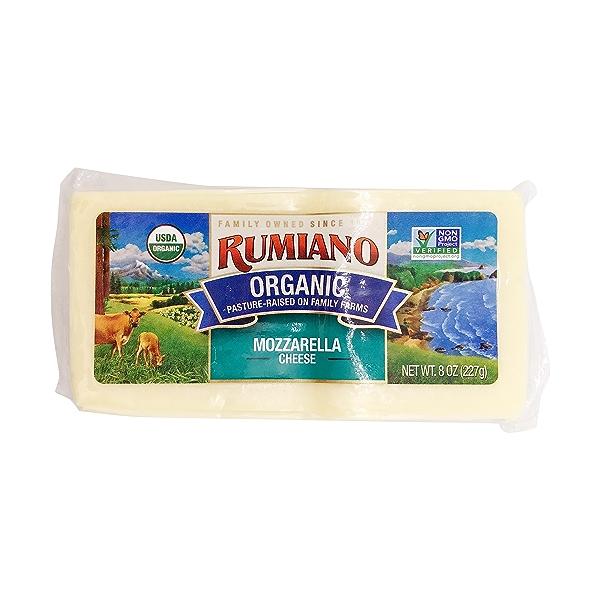Organic Mozzarella Cheese 1