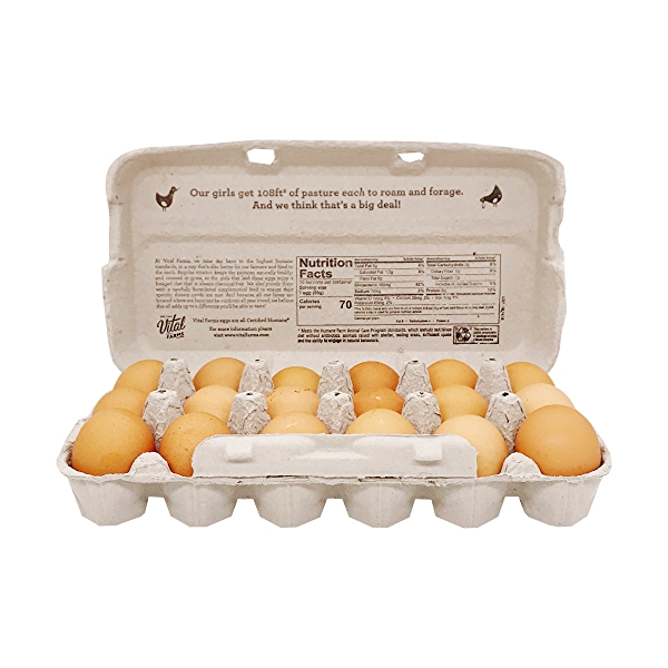 Pasture Raised Large Grade A Eggs, 36 oz 3