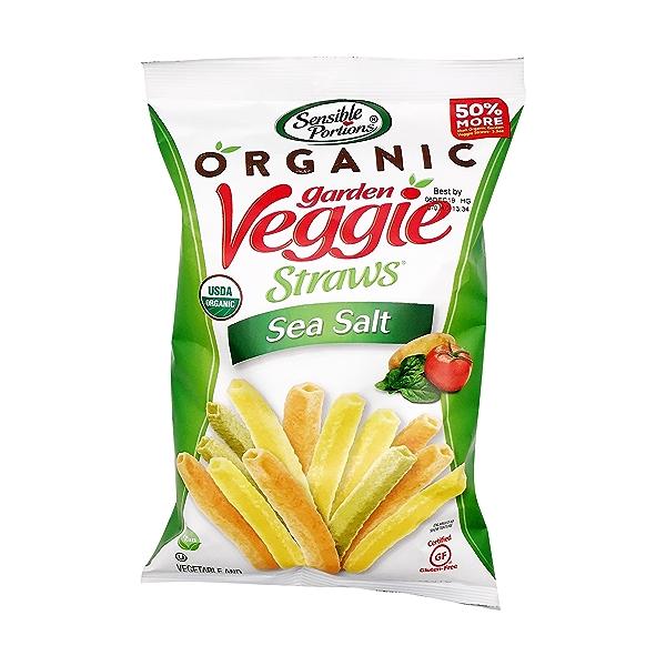 Organic Sea Salt Veggie Straws, 5 oz 1