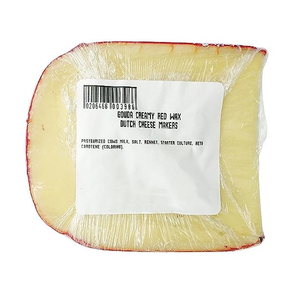 Red Wax Gouda Cheese 2