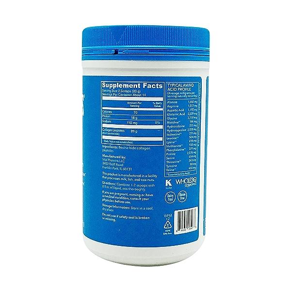 Collagen Peptide Protein Powder, 10 oz 2