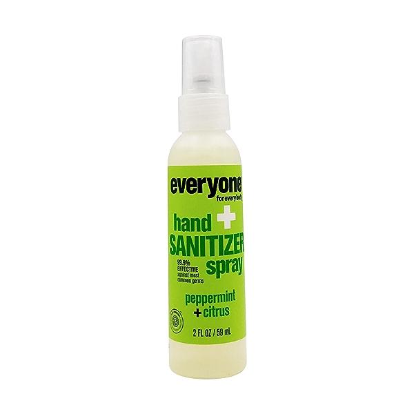 Peppermint & Citrus Hand Sanitizer Spray, 2 fl oz 1