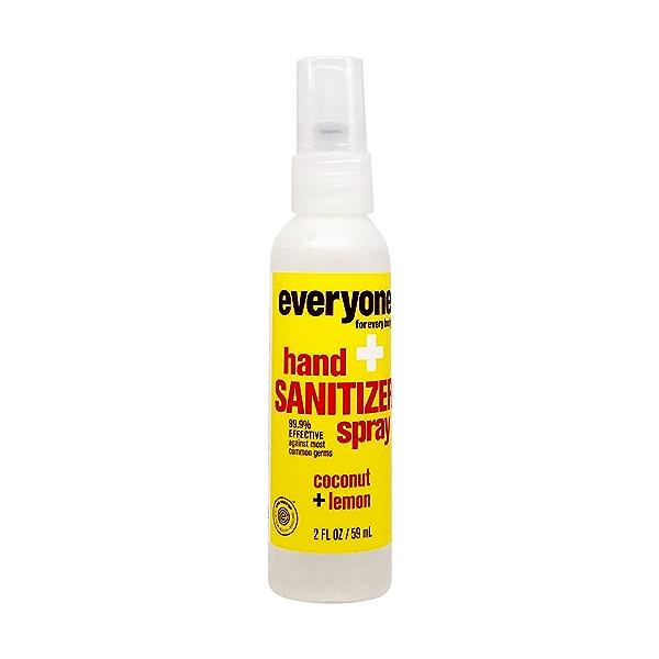Coconut Lemon Hand Sanitizer Spray, 2 fl oz 1