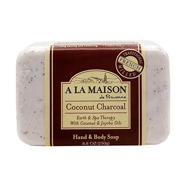 Coconut Charcoal Bar Soap, 8.8 oz 1