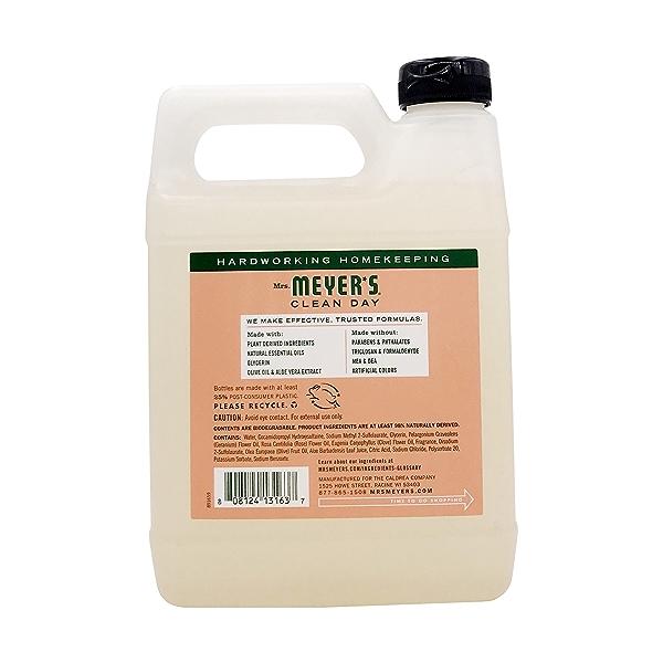 Geranium Liquid Hand Soap Refill, 33 fl oz 2