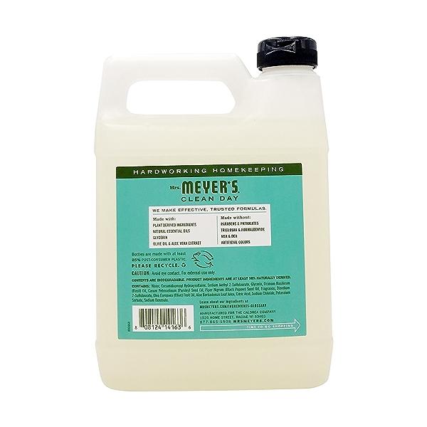Basil Liquid Hand Soap Refill, 33 fl oz 2