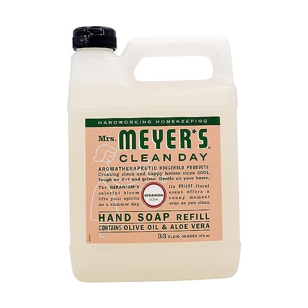 Geranium Liquid Hand Soap Refill, 33 fl oz 1