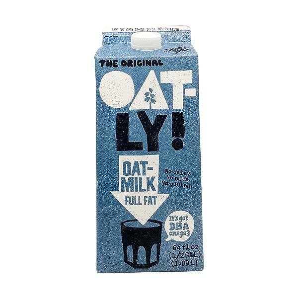 Full Fat Oat Milk, 64 fl oz 1