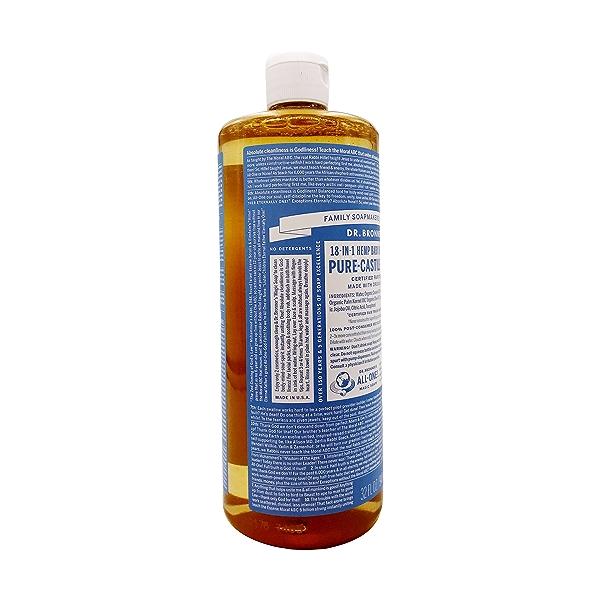 Organic Castile Baby Mild Liquid Soap, 32 fl oz 4
