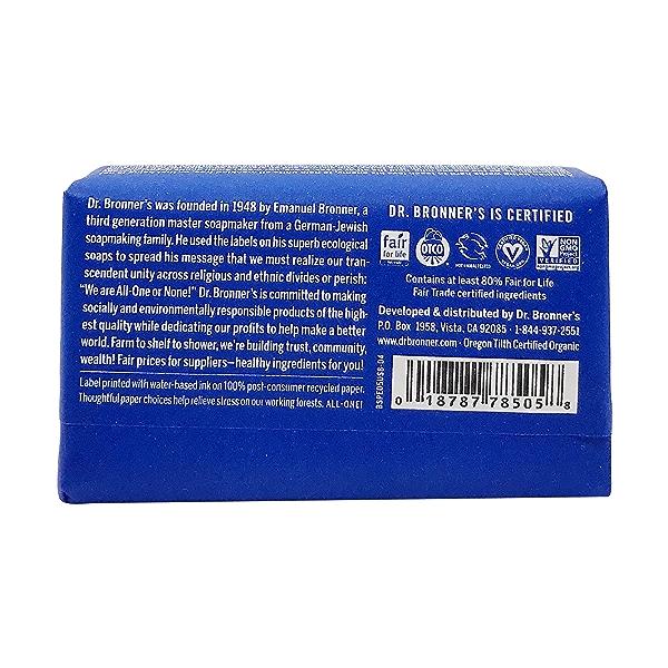 Fairtrade Hemp Peppermint Soap Bar, 5 oz 2