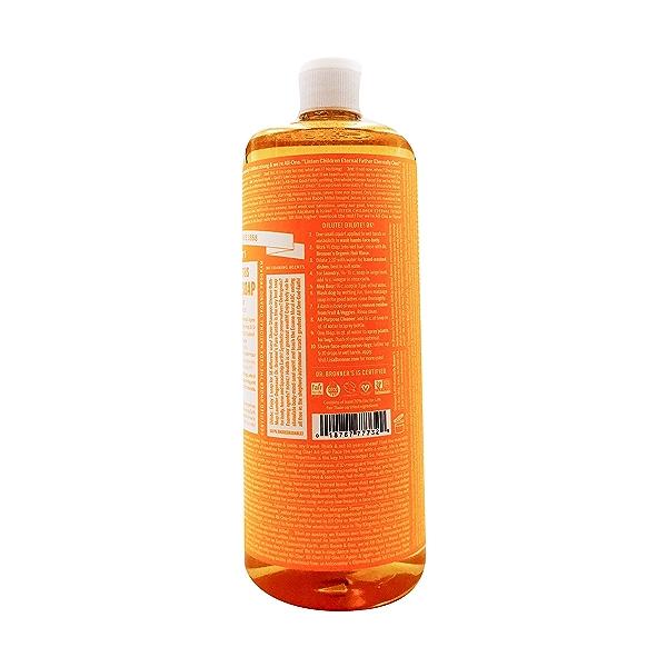 Fairtrade Organic Citrus Orange M/w Oils Liquid Soap, 32 fl oz 2