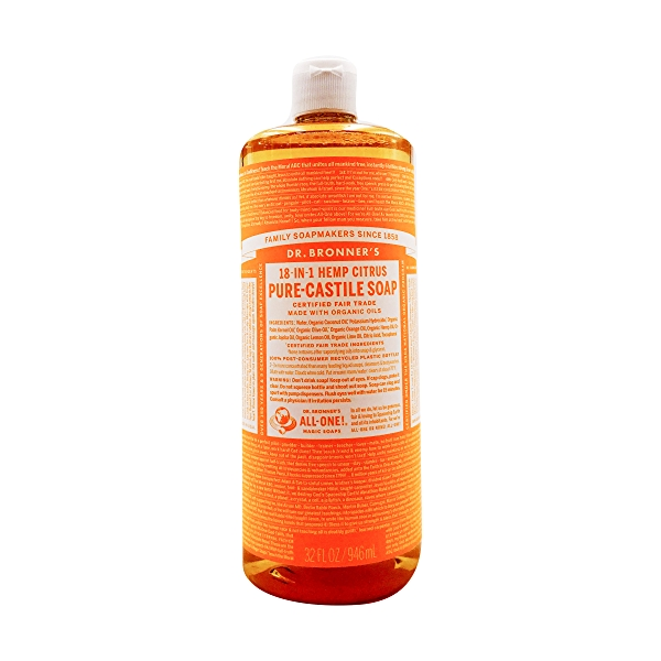 Fairtrade Organic Citrus Orange M/w Oils Liquid Soap, 32 fl oz 1