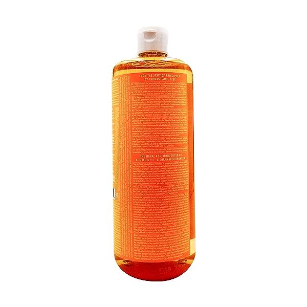 Fairtrade Organic Citrus Orange M/w Oils Liquid Soap, 32 fl oz 3
