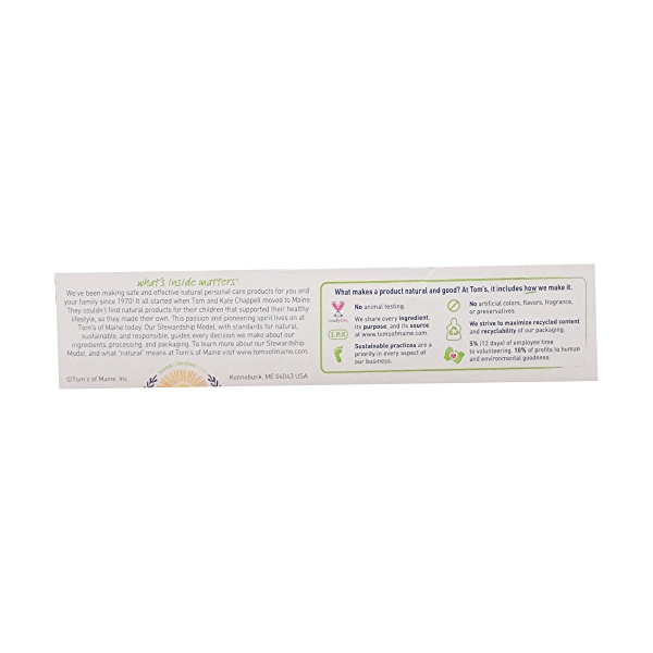 Whole Care Anticavity Toothpaste with flouride, 4 oz 3