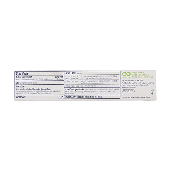 Whole Care Anticavity Toothpaste with flouride, 4 oz 2