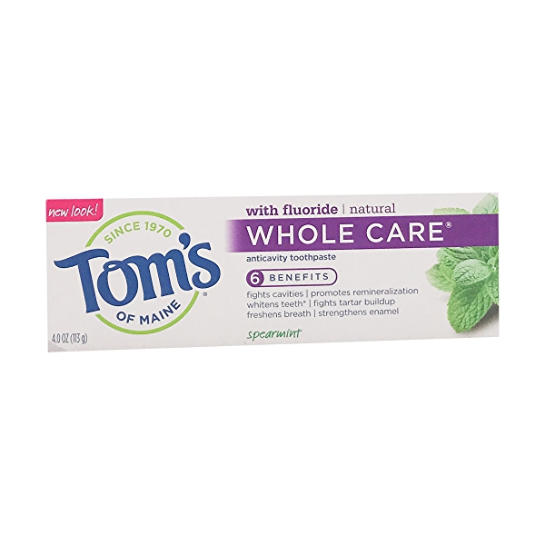 Whole Care Anticavity Toothpaste with flouride, 4 oz 4