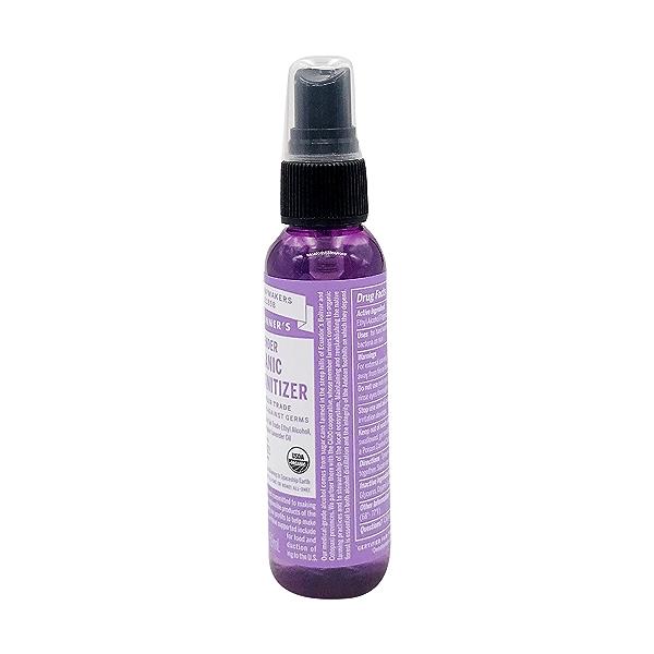 Organic Lavender Hand Sanitizing Spray, 2 fl oz 2