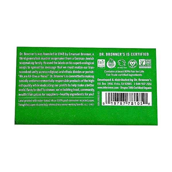 Fairtrade Almond Soap Bar, 5 oz 2