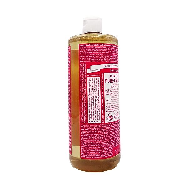 Fairtrade Organic Rose M/w Oils Liquid Soap, 32 fl oz 4