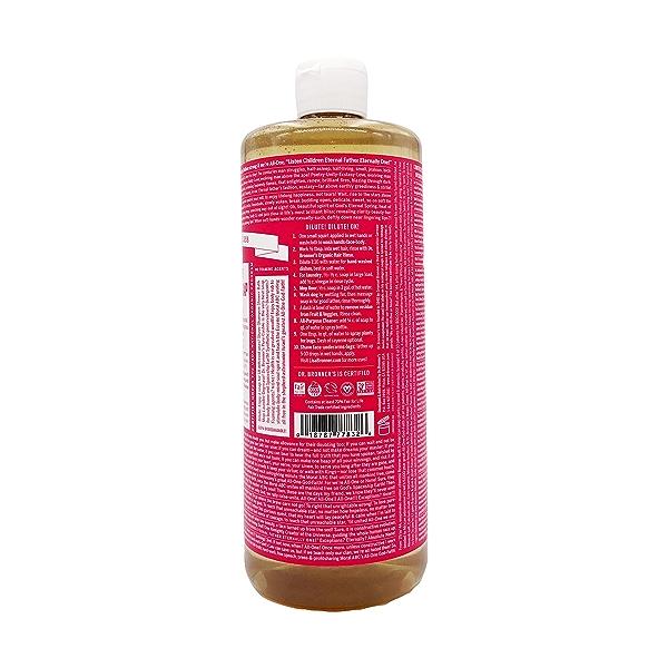 Fairtrade Organic Rose M/w Oils Liquid Soap, 32 fl oz 2