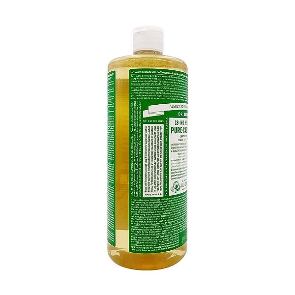 Organic Castile Almond Liquid Soap, 32 fl oz 4