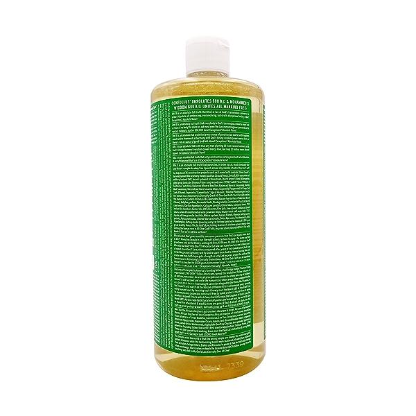 Organic Castile Almond Liquid Soap, 32 fl oz 3