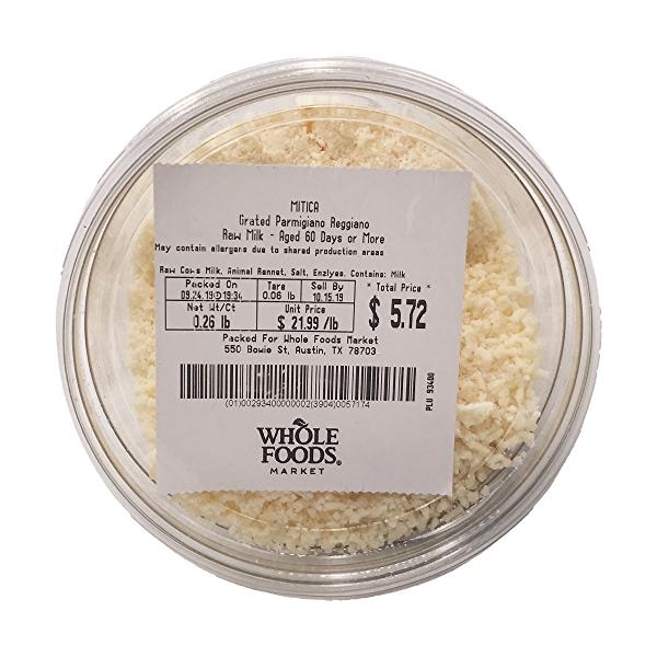 Grated Parmigiano Reggiano, 0.26 lb 2