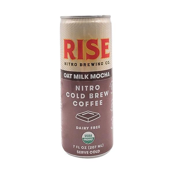 Organic Mocha Latte Nitro Cold Brew Coffee, 7 fl oz 1