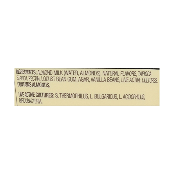 Vanilla Greek-Style Almond Milk Yogurt, 5.3 oz 3