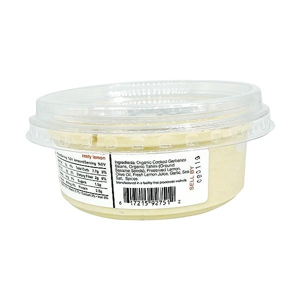 Zesty Lemon Hummus, 8 oz 5