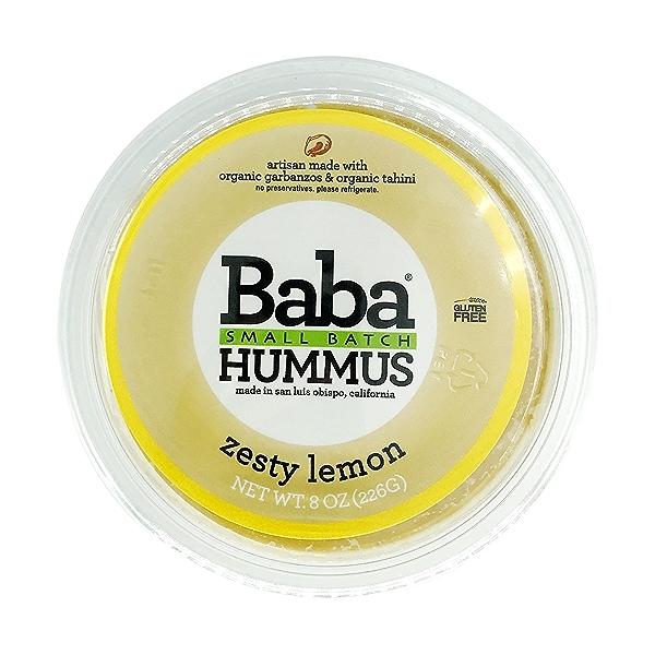 Zesty Lemon Hummus, 8 oz 2