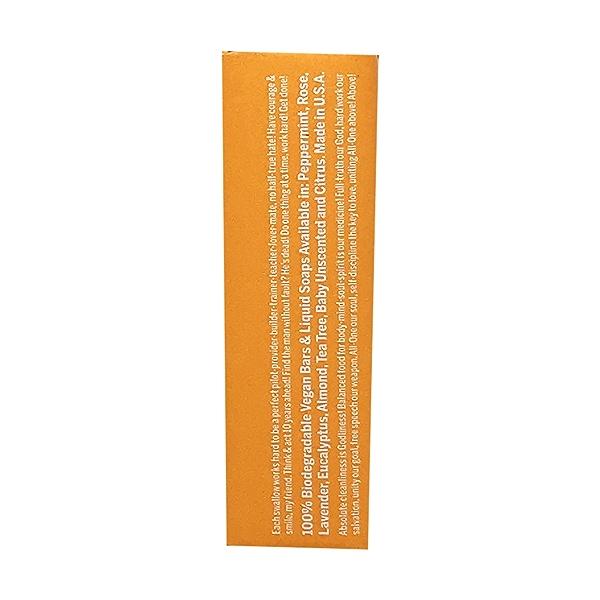 Fairtrade Hemp Citrus Hemp Soap Bar, 5 oz 4