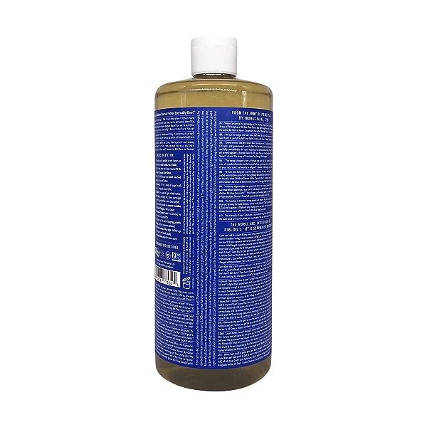 Organic Castile Peppermint Liquid Soap, 32 fl oz 2