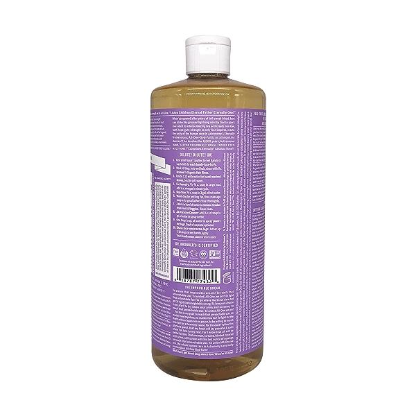 Organic Castile Lavender Liquid Soap, 32 fl oz 2