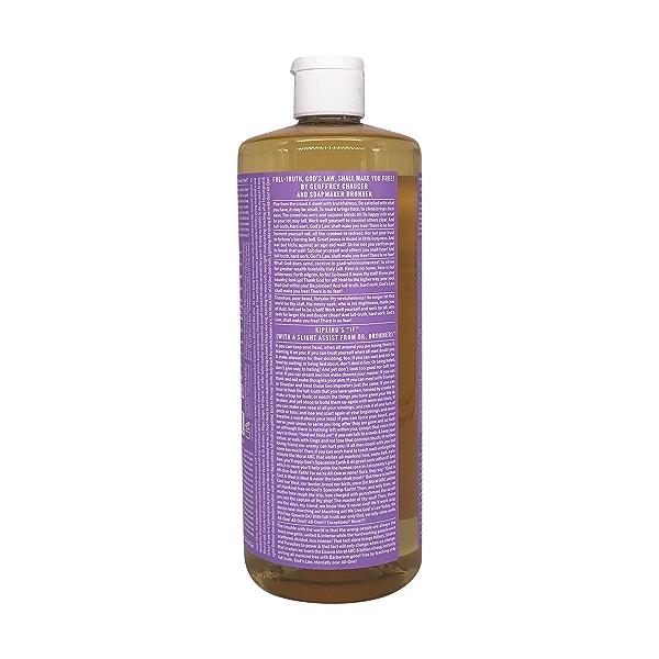 Organic Castile Lavender Liquid Soap, 32 fl oz 3