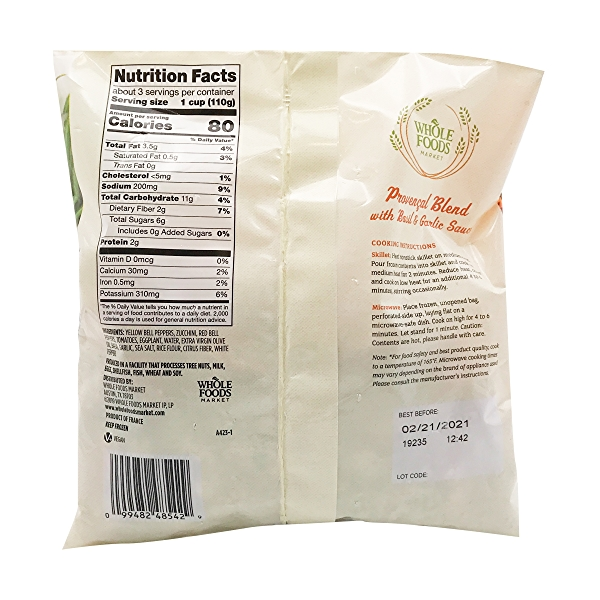 Provencal Vegetable Blend, 12 oz 2
