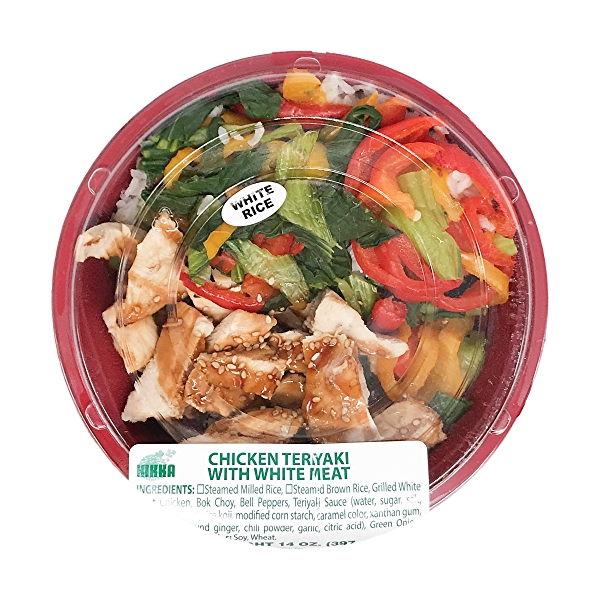 Chicken Teriyaki Bowl With White Meat, 14 oz 1