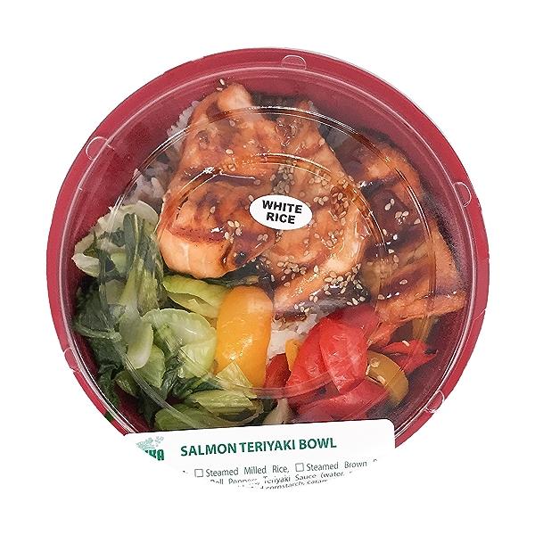 Salmon Teriyaki Bowl, 14 oz 1