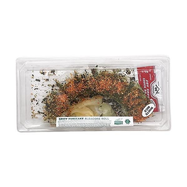 Spicy Furikake Albacore Roll, 7 oz 1