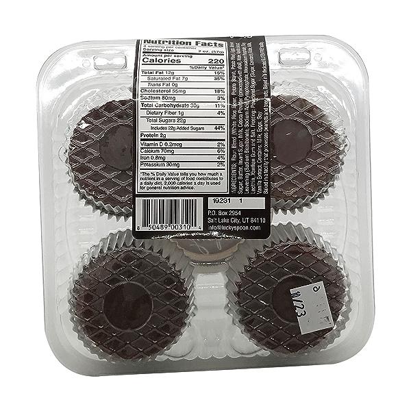 Cupcake, Gf Chocolate 4ct Nat Cs, 8 oz 3