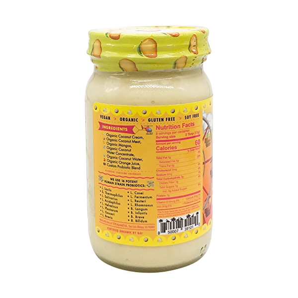 Mango & Cream Probiotic Coconut Yogurt, 8 fl oz 3