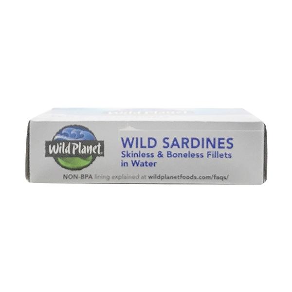 Skinless Boneless Wild Sardine Fillets In Water 4