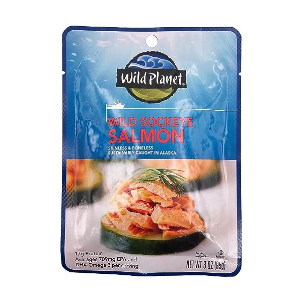 Wild Sockeye Salmon 1