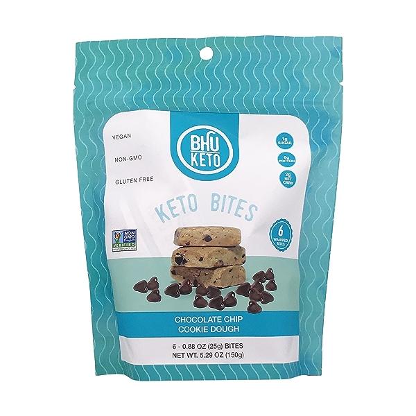Keto Chocolate Chip Cookie Dough Bites, 5.29 oz 1