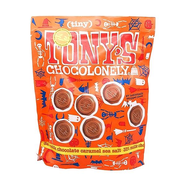 Halloween Milk Chocolate Sea Salt Caramel Bag 1
