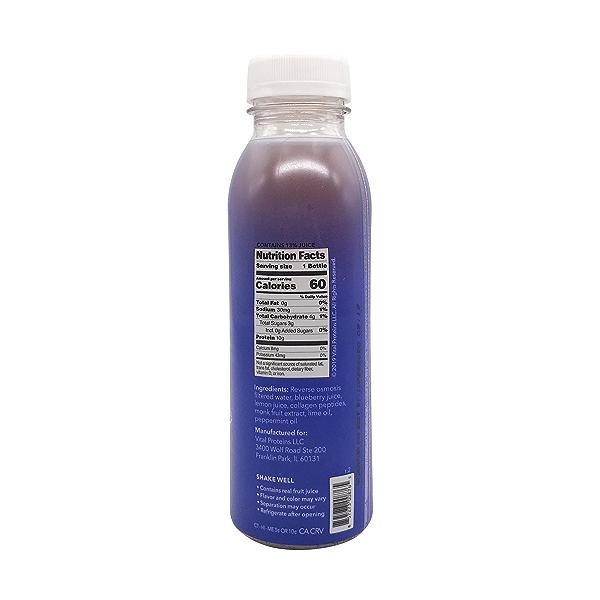Blueberry Mint Collagen Water, 12 fl oz 2