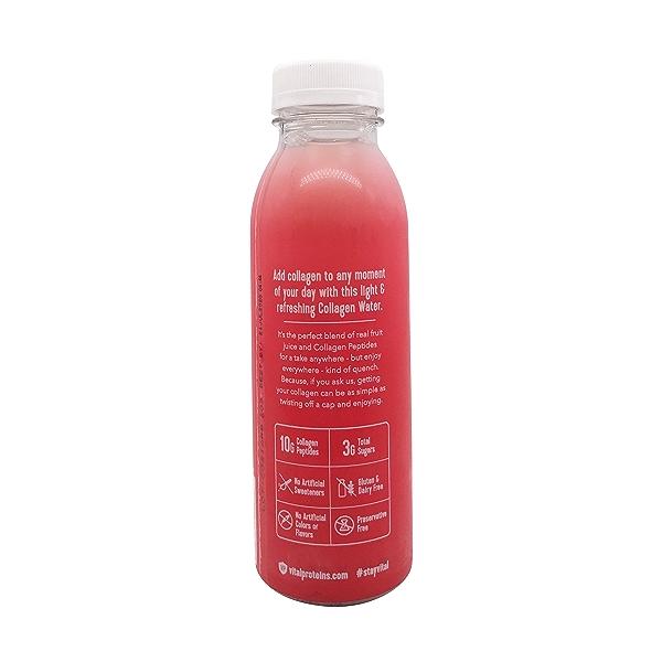 Strawberry Lemon Collagen Water, 12 fl oz 3