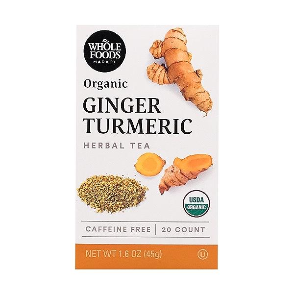 Organic Ginger Turmeric Herbal Tea, 1.6 oz 1