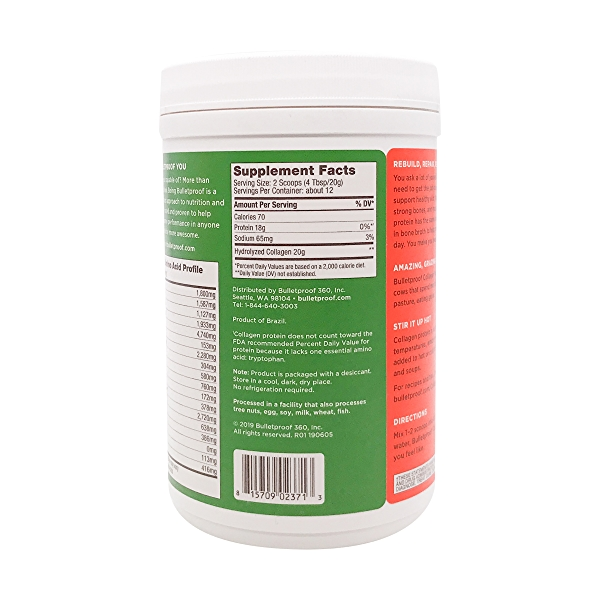 Unflavored Collagen Protein, 8.5 oz 2